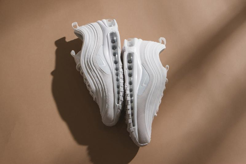 "Nike Air Max 97 Air Max 1 ""Summit White"" Creme Beige Sneaker Release Spring Summer Shoe"