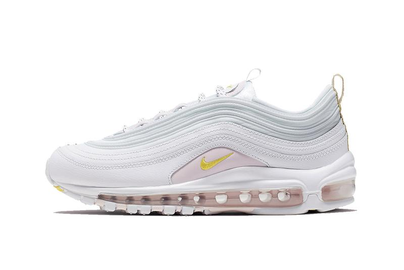Nike Air Max 97 Pastel Pink White Yellow Summer Release Sneaker Shoe Drop