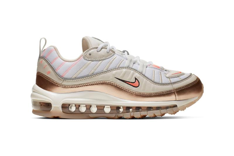 new arrival 36947 1d11d Nike's Air MAX 98 in Rose Gold, Orewood Brown & Lava Glow ...