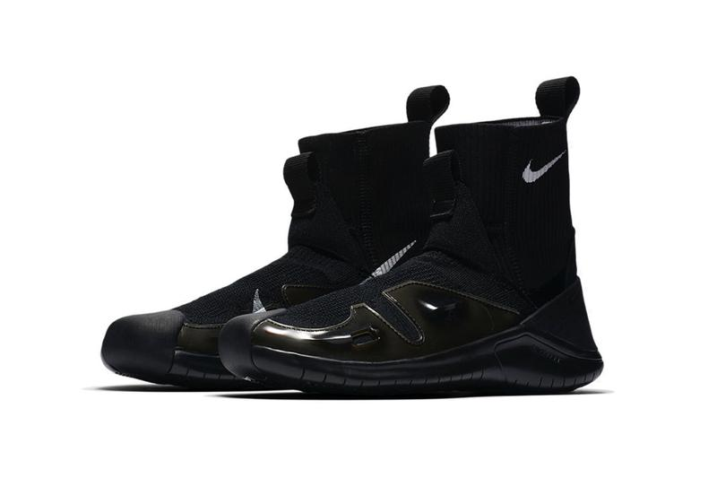 ALYX Nike Vibram Sock Sneaker Matthew Williams Black White First Look Logo Swoosh Detachable Sole Release Date