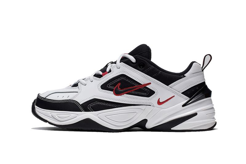 Nike M2K Tekno Monarch Red White Black Sneaker Release Drop Shoe Footwear Trainer Chunky