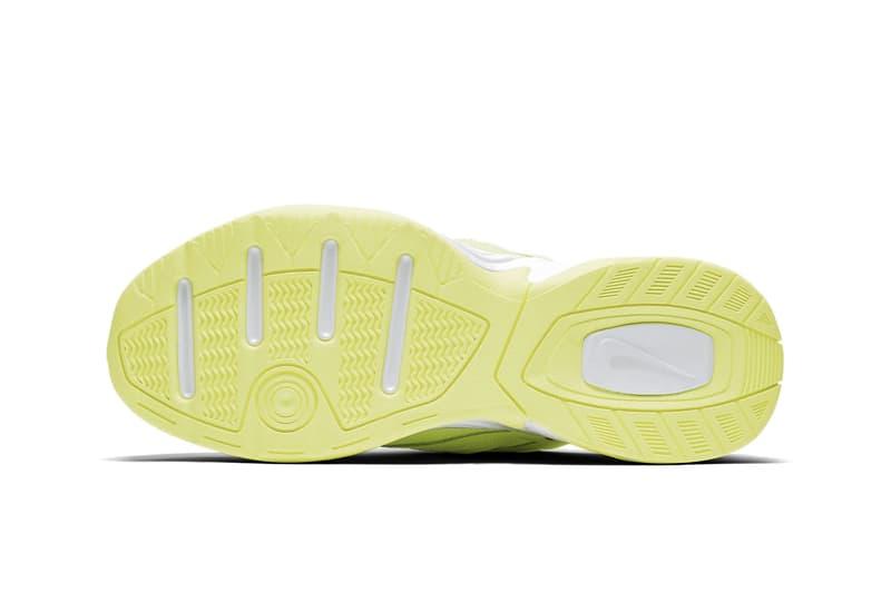 Nike M2K Tekno Neon Green Red Orange Yellow Drop Release Sneaker Shoe Vibrant Trend Dad Sneaker Chunky Shoe