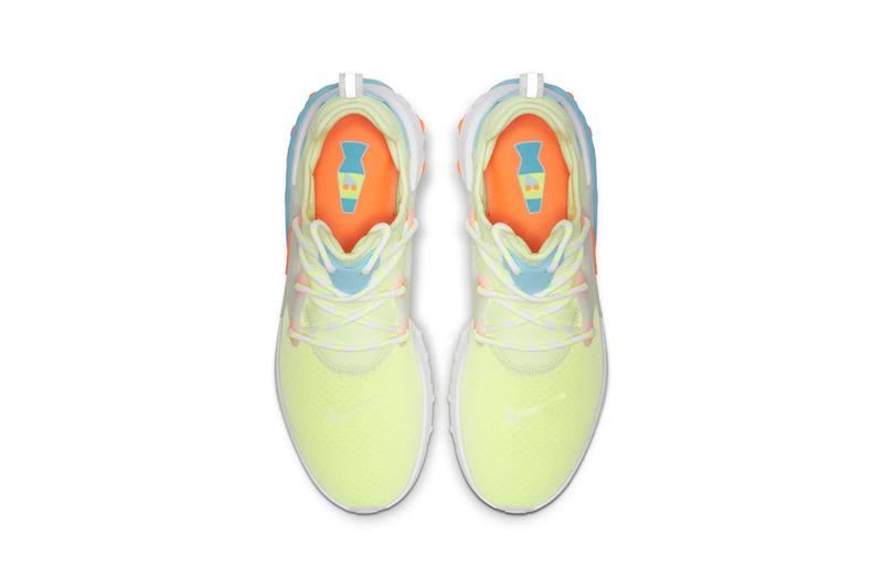Nike React Presto Psychedelic Lava Green Orange