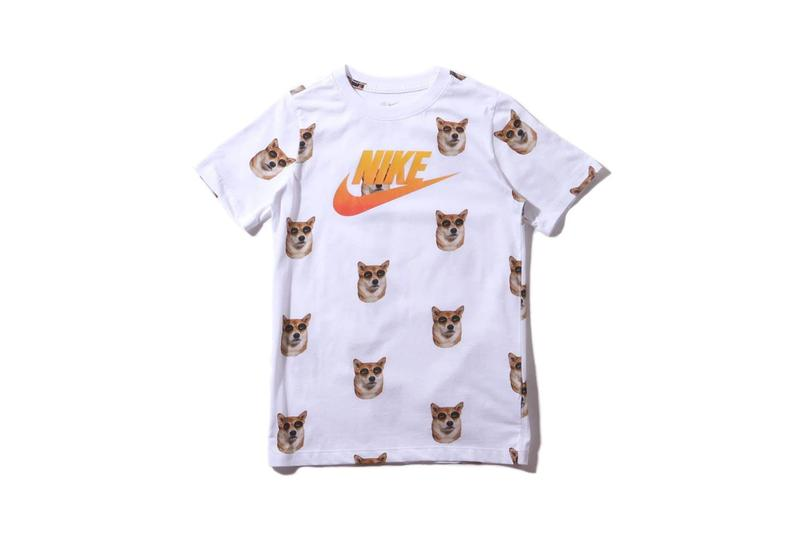 The Menswear Dog x Nike Shiba Inu T Shirt White