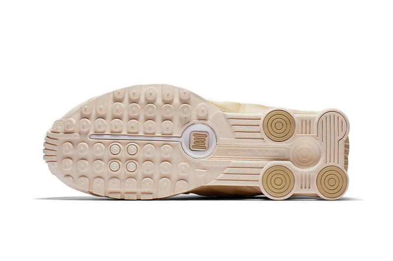 premium selection 340d5 6288c Go for Gold in Nike s Latest Shox R4