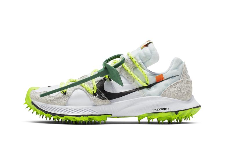 Nike x Off-White Zoom Terra Kiger 5 Release Date Virgil Abloh Sneaker Shoe Drop Athlete in Progress Caster Semenya