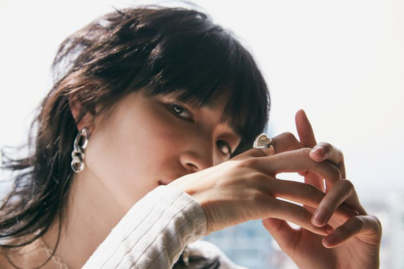 Numbering Spring Summer 2019 Lookbook Earring Ring Gold