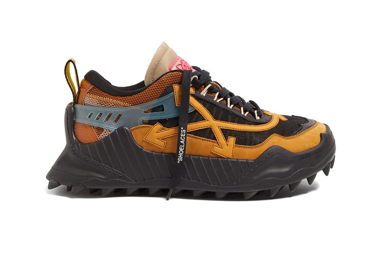 4e2e9fc0701 Take a Look at Off-White™ s Chunky ODSY-1000 Spiked Sneaker