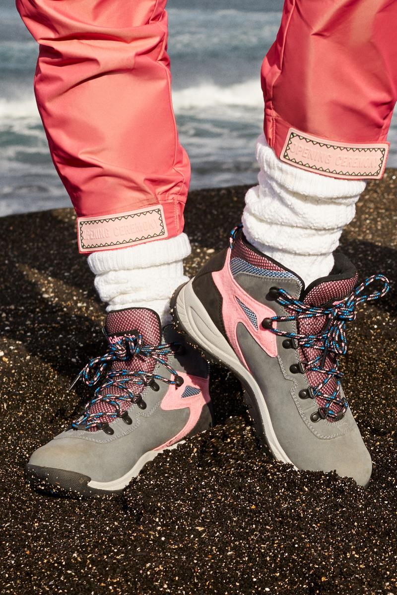 Opening Ceremony x Columbia Spring 2019 Capsule Collection Hiking Boots Grey