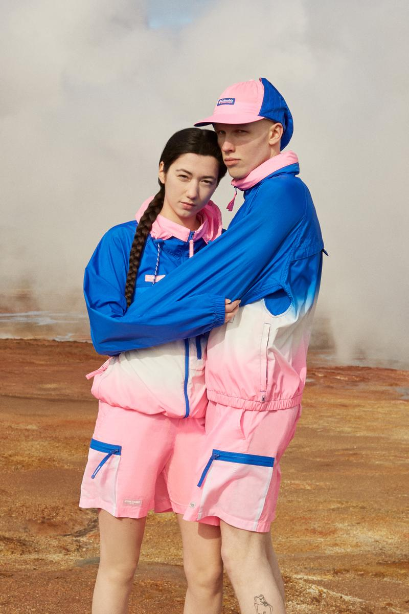 Opening Ceremony x Columbia Spring 2019 Capsule Collection Jacket Shorts Pink Blue