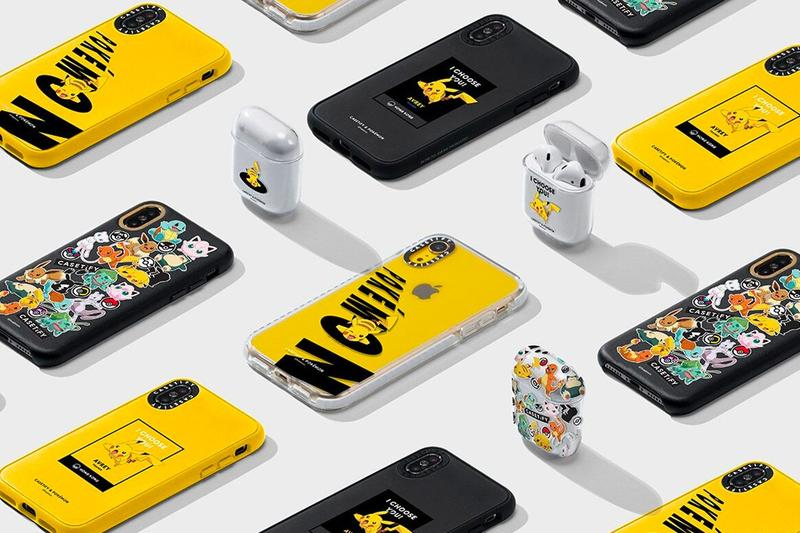 Pokemon x Casetify Phone Case Collaboration Pikachu Phone AirPod