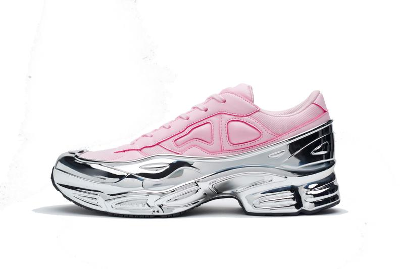 adidas by Raf Simons RS Ozweego Metallic Silver Release Colorways Sneakers