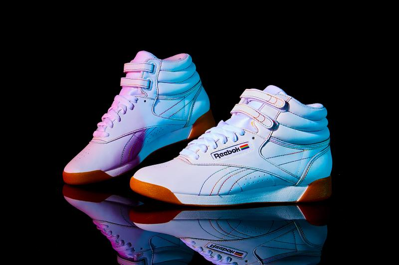Reebok Pride Month Pack Freestyle Hi White