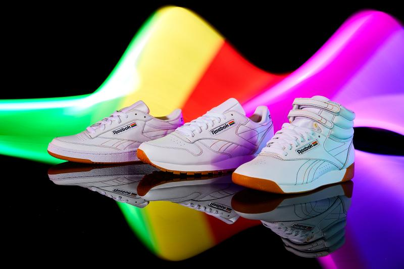 Reebok Pride Month Pack Classic Leather Club C Freestyle Hi White