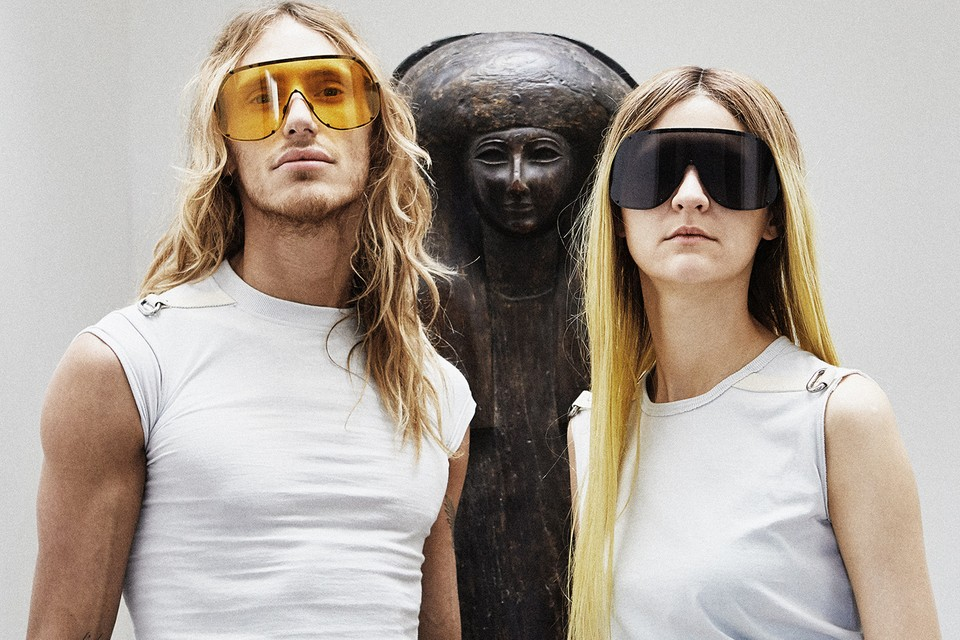 Rick Owens Is Launching a Futuristic Eyewear Collection