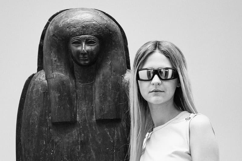 Rick Owens Sunglasses Collection Frame Black