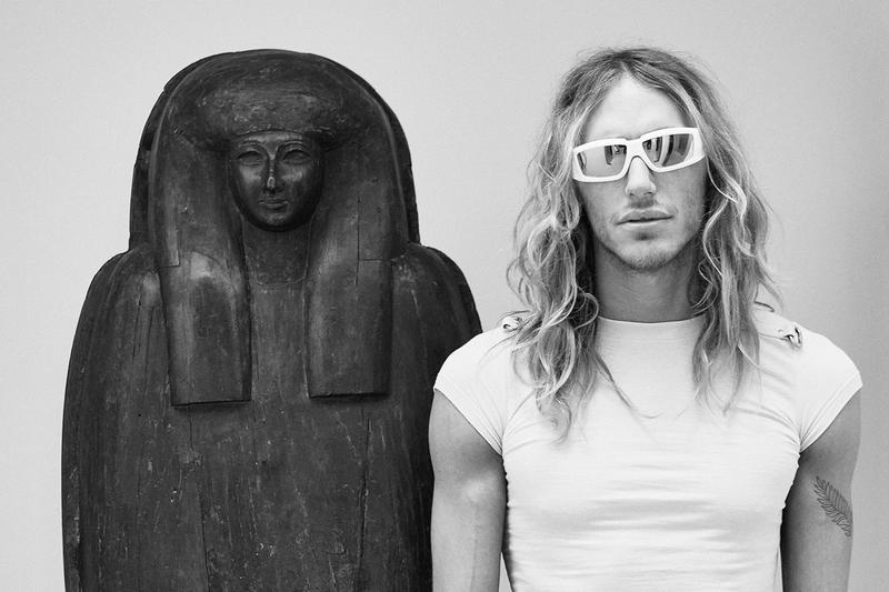 Rick Owens Sunglasses Collection Frame White