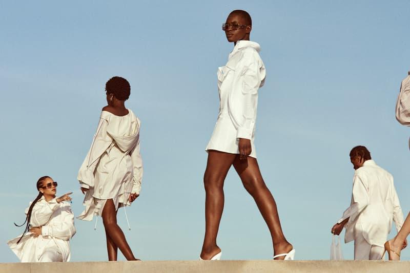 Fenty Release 5 19 Campaign Shirt Dresses White Rihanna
