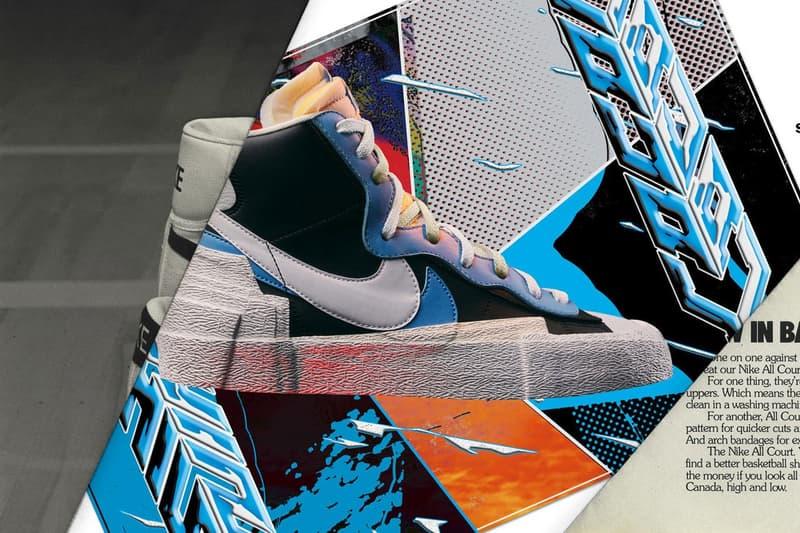 sacai x Nike LDWaffle Daybreak Black Legend