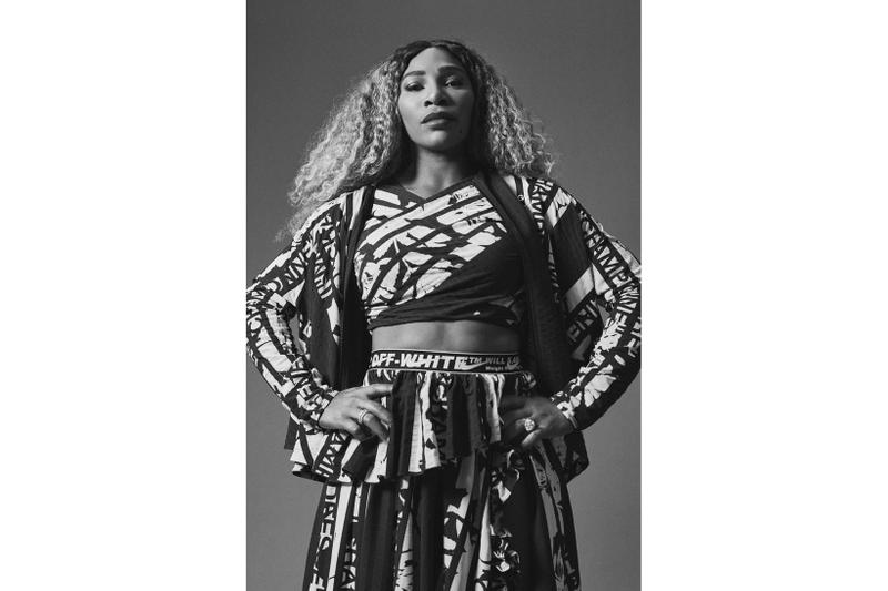Serena Williams Nike Off White Cape Jacket