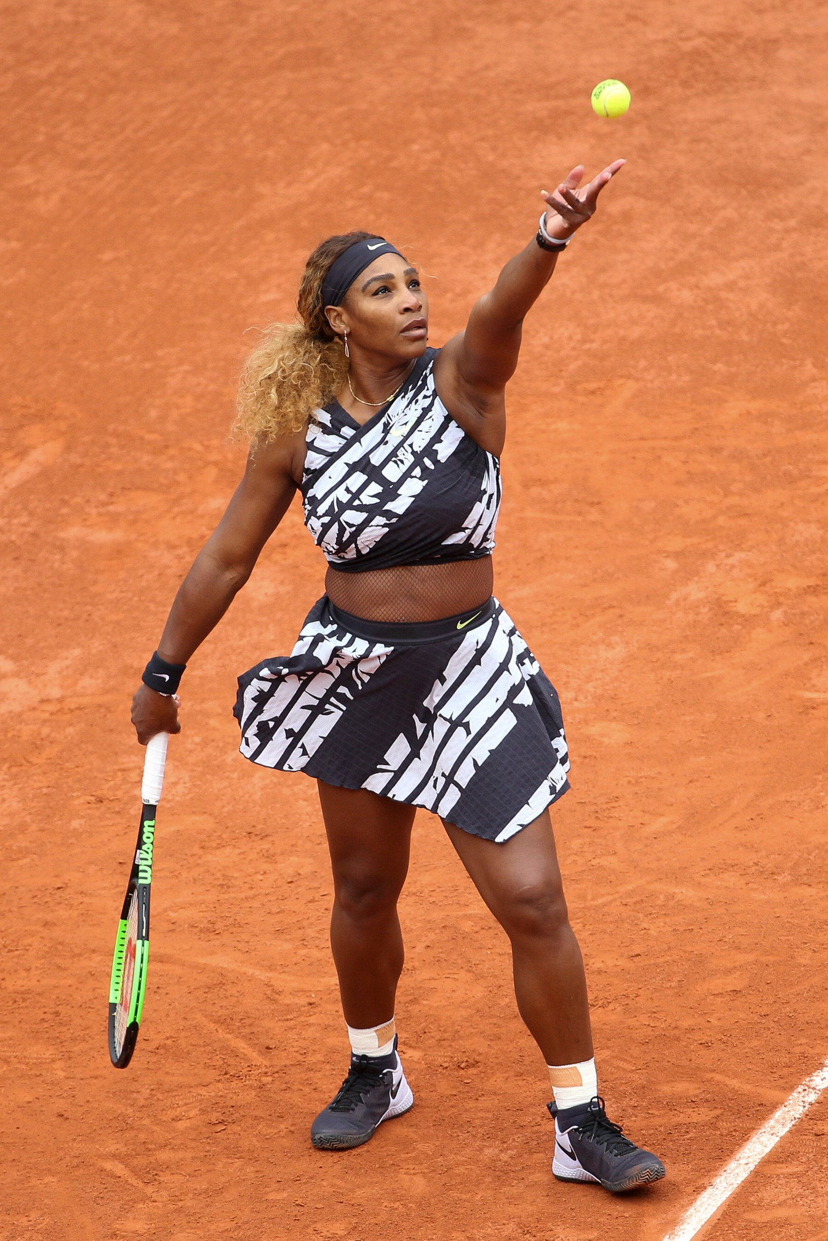 Serena Williams Off White Outfit French