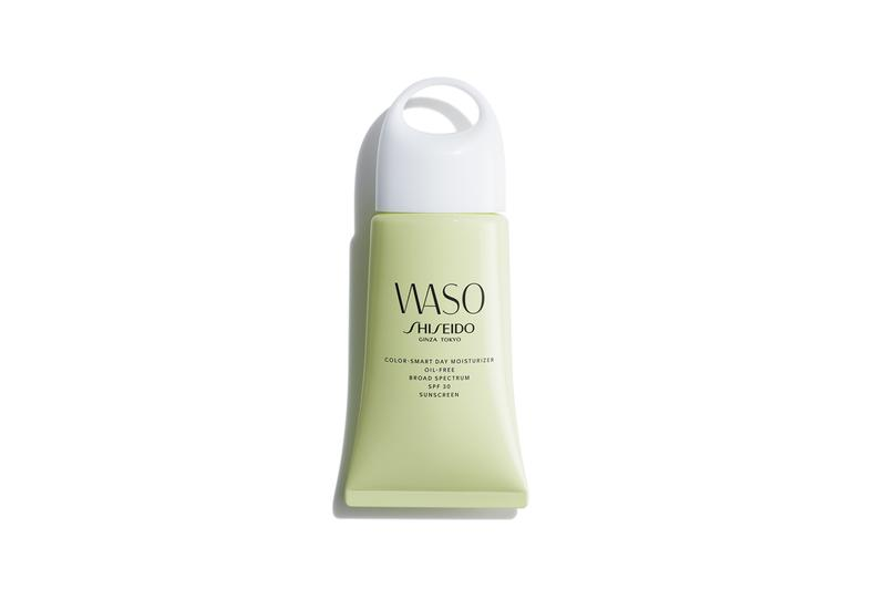 Shiseido WASO Skincare Collection Color Smart Day Moisturizer Oil Free SPF 30 Sunscreen