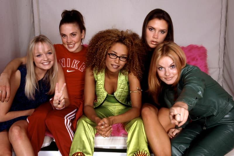 Spice Girls Scary Baby Posh Ginger Sporty Melanie Brown Chisholm Emma Bunton Geri Halliwell Victoria Beckham
