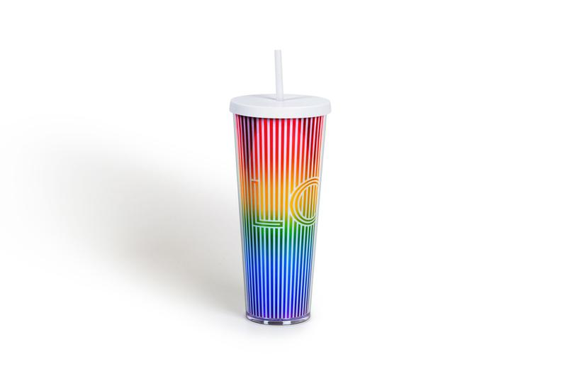 Starbucks LOVE Pride Month Tumbler Cup Rainbow Red Yellow Green Blue