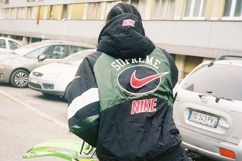 Supreme x Nike Summer 2019 Collection Jacket Black Green