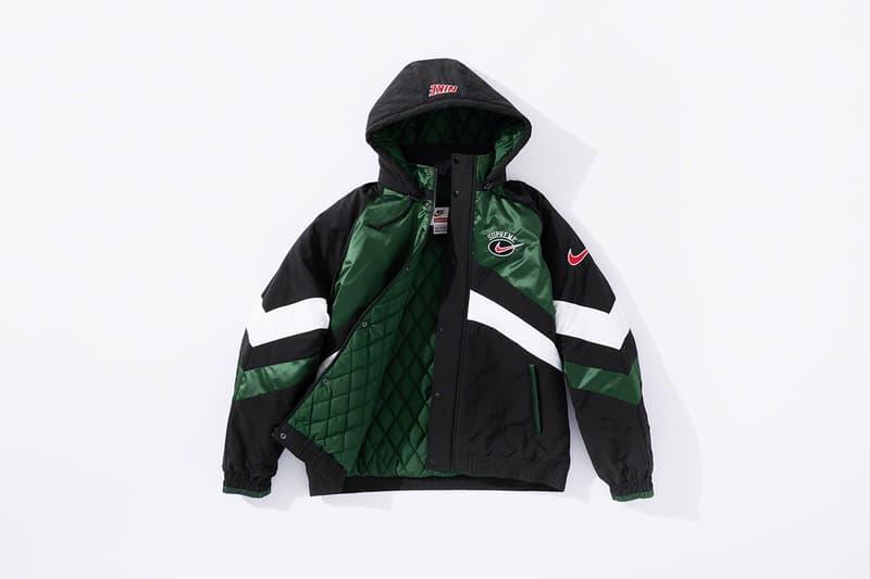 Supreme x Nike Summer 2019 Collaboration Lookbook Logo Sportswear Retro Range Apparel Release Date