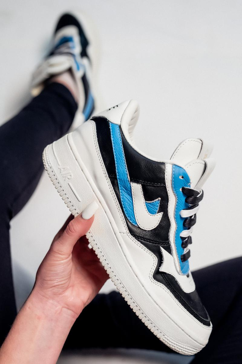 The Shoe Surgeon Debuts Sacai X Nike Air Force 1 Hypebae