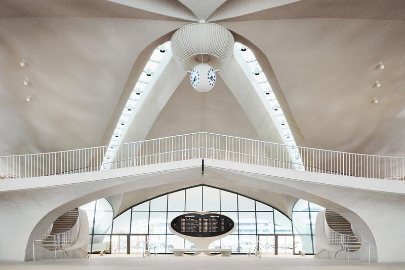 TWA Hotel JFK Airport New York Area White