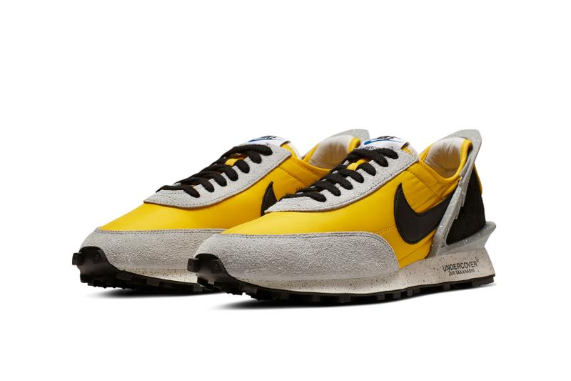 Undercover x Nike Daybreak Collaboration Bright Citron Black