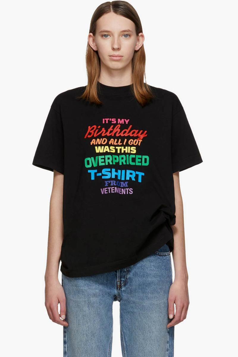 Vetements Birthday T-Shirt