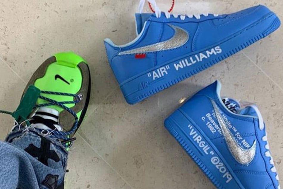 Virgil Gifts Serena Williams AF1