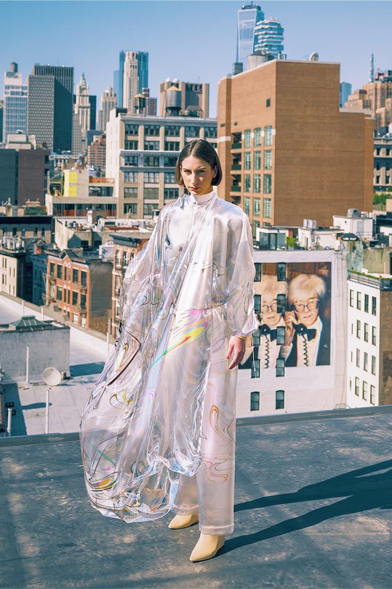 The Fabricant Digital Blockchain Dress Silver