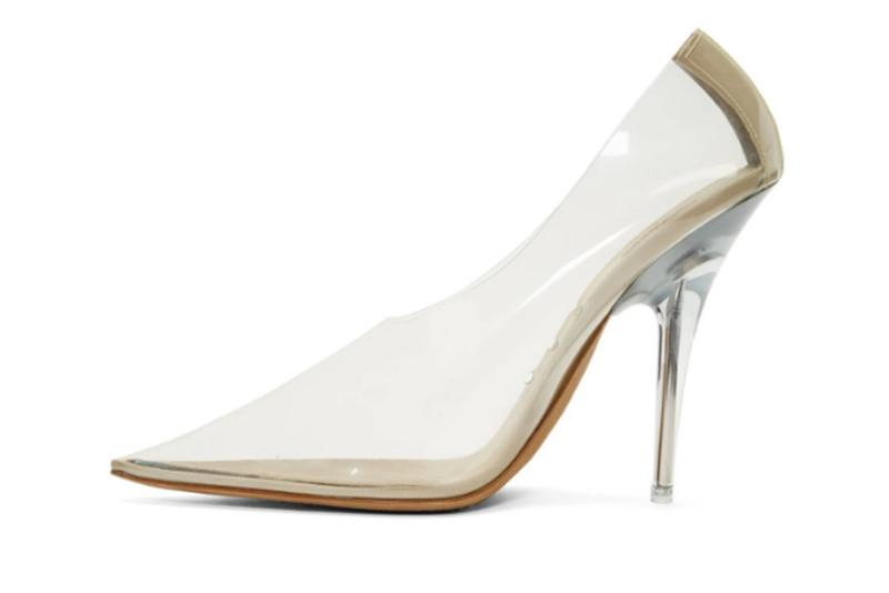 YEEZY Season 8 Collection Transparent PVC Pumps