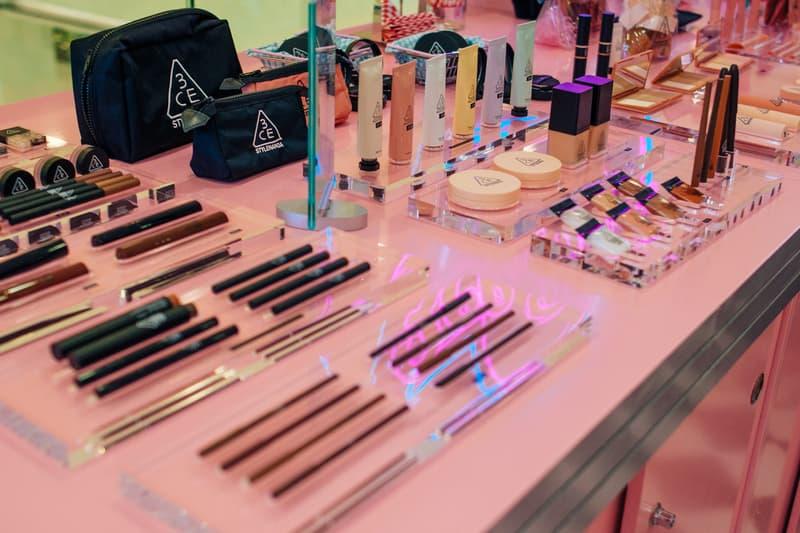 3CE Diner Pop Up Hong Kong Beauty Makeup Samples