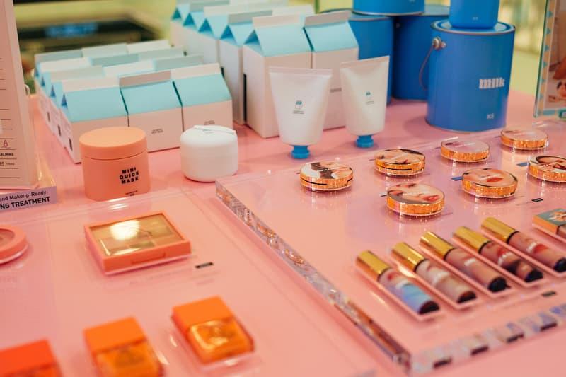 3CE Diner Pop Up Hong Kong Beauty Makeup Eyeshadow Samples