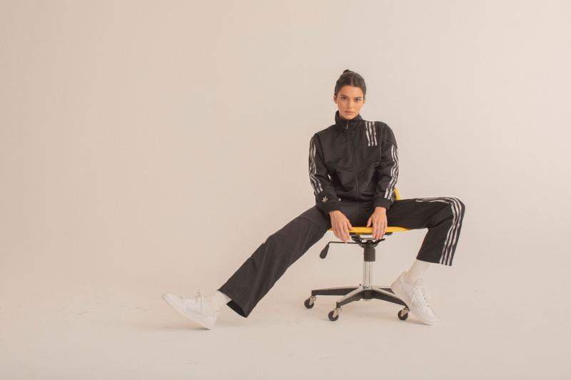 Kendall Jenner adidas Originals Danielle Cathari Collection Release Fall Winter 2019 Range Sporty Tracksuit Three Stripes