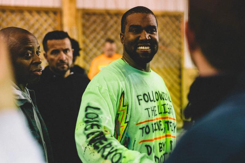 Kanye West ye Album Listening Party Wyoming Shirt Green