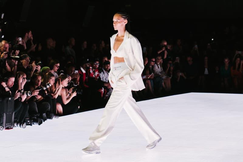 Alexander Wang Spring Summer 2020 Runway Show Rockefeller Center New York American Flag America Designer Model White Binx Walton