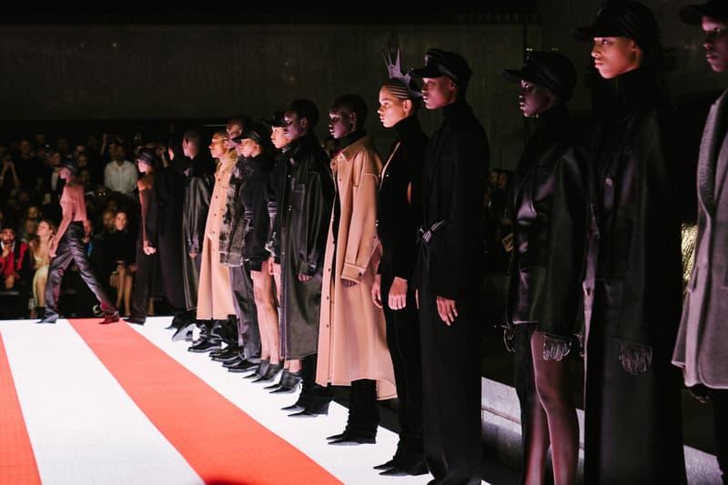 Alexander Wang Spring Summer 2020 Runway Show Rockefeller Center New York American Flag America Designer Finale Models
