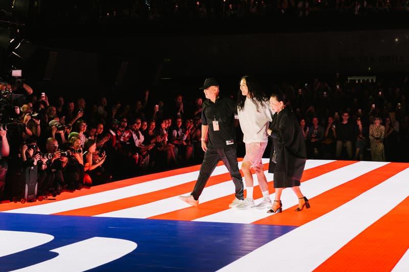 Alexander Wang Spring Summer 2020 Runway Show Rockefeller Center New York American Flag America Designer Parents