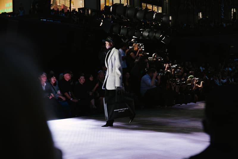 Alexander Wang Spring Summer 2020 Runway Show Rockefeller Center New York American Flag America Designer Model