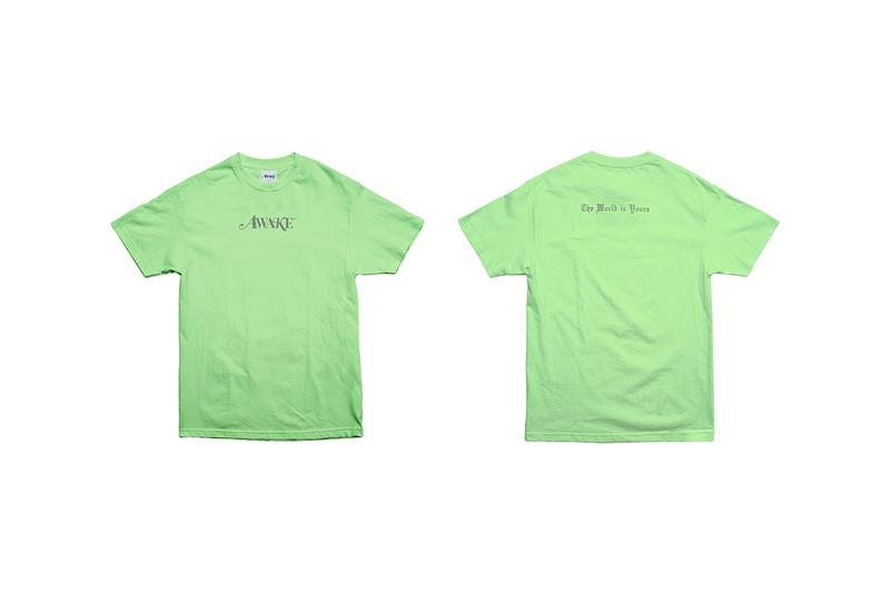 Awake NY T Shirt Green