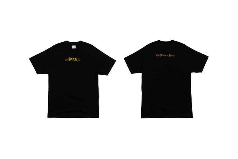 Awake NY T Shirt Black