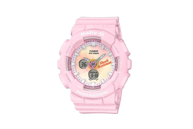 Baby-G Summer Gradation Dial Watch Collection Pink Yellow Tie Dye