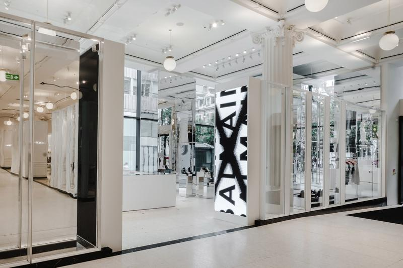 Balmain x Selfridges Sneaker Customization Space Pop-Up Corner Shop London Streetwear Event What To Do in London this Month Fashion Olivier Rousteign