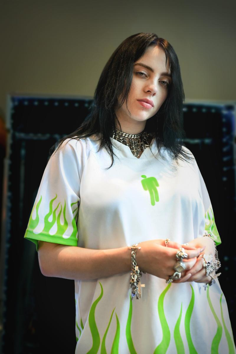 Billie Eilish Bleacher Report Women's World Cup Jersey Capsule Collection Green White